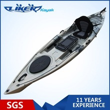 New Coming 4metre Sit On Top Fishing Kayak with Clear Hatch Fishing kayak