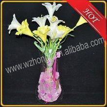 Recyclable plastic vase