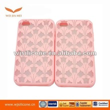 Perfect laser silicone phone case for iphone 4