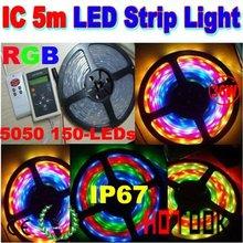 SMD 5050 30LEDs/Meter 5M IP67 Waterproof flexible LED strip