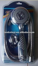 blister packing three function hand shower head