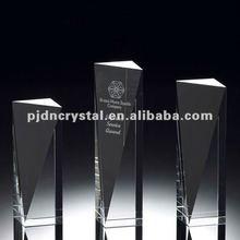 Athens Achievement Crystal clear Award trophy parts wholesale