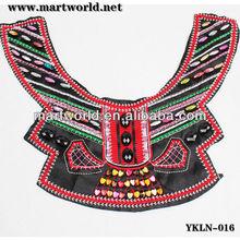 Todos os tipos de encolure en crochet para senhoras vestuário ( YKLN-016 )