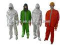 Mkf a prueba de fuego tela nomex bombero trajes/ropa