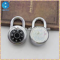 Round combination lock cam lock digital lock for safes zinc alloy padlocks