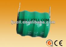 rechargeable 2.4V 3.6V 80mAH/110mah/40mah nimh battery pack battery manufacturer 3.6V 80h/110h ni-mh button cell battery pack