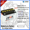 2014 New Motorcycle Battery 12v dry charge lead acid battery factory of china
