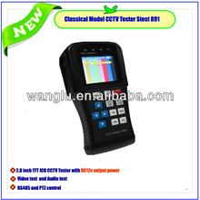 "CCTV 2.8""CCTV Tester Monitor, RJ45 Cable, PTZ Test, 12V Camera Power Out"