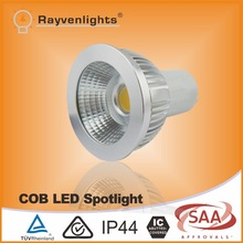 SAA/CE 220V 50W halogen replacement 5W COB led lights gu10