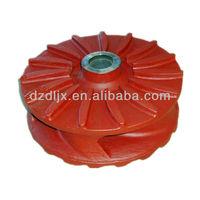 High pressure pump metal impeller