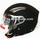 2013 New Open Face Jet Double Visor Motorcyle Helmet OP-02 Matte Black