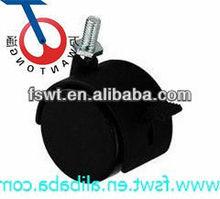 High Quality Black Screw Polyurethane Caster Wheel