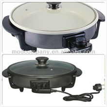 non stick ceramic coating pizza pan-Round electronic pizza pan