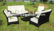 7 people seat Rattan outdoor furniture sofa set