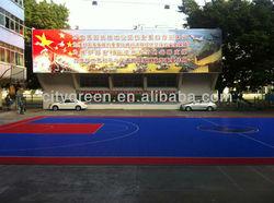 interlocking basketball court flooring