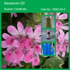 Farwell 100% Natural GERANIUM Essential Oil, Kosher Certificate