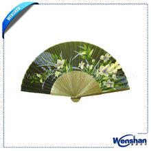 Japanese hand paper fan