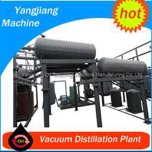 Vacuum Distillation plant for Waste Engine Mobile Oil Recycling