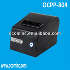 OCPP-804-URL --- 80mm 260mm/sec High Speed Restaurant Receipt Printer Black Color With USB, Serial, LAN Together And Auto Cutter