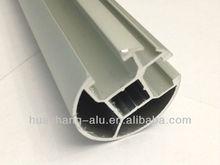 Aluminum window curtain track profile