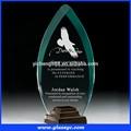 Oem personalizado acrílico troféu, troféu de plástico com base