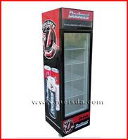 Upright Display Showcase, Beverage Refrigerator, Display Cooler