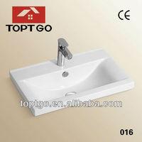 New!!!Popular Rectangular Ceramic Sink 016