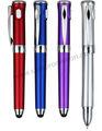 s1008 2014 3 in 1 funzione penna di tocco con luce a led e penna a sfera