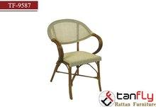 bamboo rattan wicker stocking dining chair