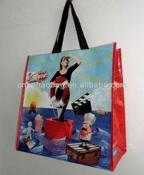lamination pp woven shopping bag
