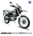 South America Hot selling 200cc dirt bike motorcycle | 200cc off road motorcycle | 200cc enduro motocicleta de China