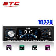 car mp3 radio with usb port support USB /SD/MMC card STC-1022U