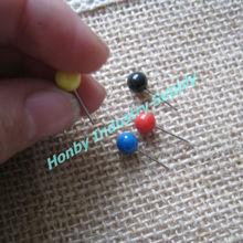 6mmx17mm Custom Color Ball Head Push Pins