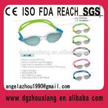 2014 latest silicone prescription swimming goggle, sports eyewear