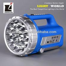 2013 New design lamp Rechargeable Battery Led Torch Light/led light 3.7 volt (SL-3009U)