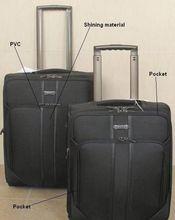 2013 new design popular nylon abs trolley luggage/bag