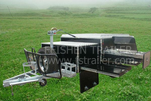 2013 camper trailer HFC11 hard floor off-road travel trailer