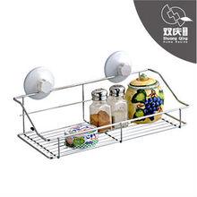 bathroom suction cup storage wire Basket