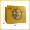 alta qualidade de cera grande papelrevestido saco de comida para embalagens bolodalua