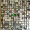 Natural Polished Sea Shell Mosaic/Indoor Shell Wall Mosaic