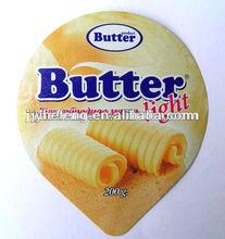 5 colors print aluminium lid for butter