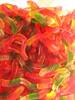 vitamins crystal gelatin based bright yummy gummy worms candy