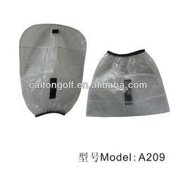 Transparent rain cover golf bag rain cover PVC golf rain cover