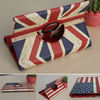 Luxury stand cover case flag for ipad 2/3/4 /iPad Air /iPad mini1&2