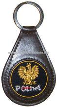 Embroiderd Key Fob | PolNet Key Ring | Polish Eagle Key Fob
