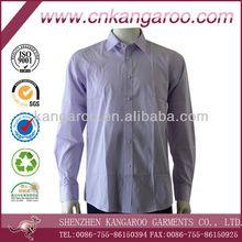 Men's 100% cotton long sleeve plain fashion Shirts