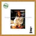 Full cor lovely baby photo album/impressão do livro