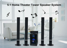 TOP 10 Plastic panel super bass 5.1 tower home theater speaker