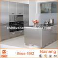 2015 novo design 304 de aço inoxidável armário de cozinha da China initiating de aço inoxidável coberta fabricante de armário de cozinha