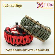 cheap durable sports team paracord bracelet wholesale